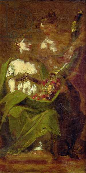 Abundance (oil on canvas)