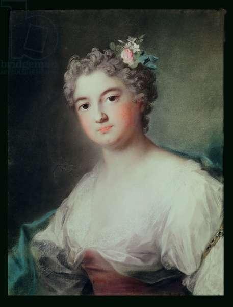 Portrait of Mademoiselle de Clermont, aged 23 (pastel)
