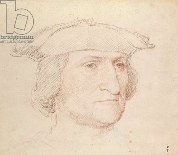 Portrait of a Man, c.1515 (red chalk on paper)
