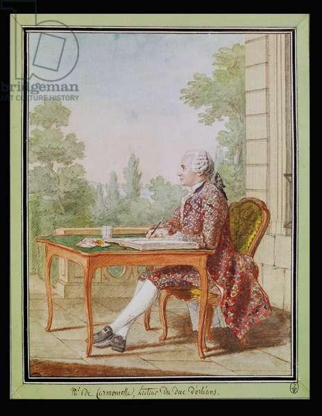 Self Portrait, c.1762 (w/c on paper)