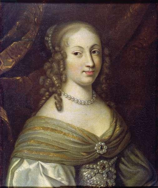Anne-Genevieve de Bourbon-Conde (1619-79) Duchesse de Longueville, 1669-80 (oil on canvas)