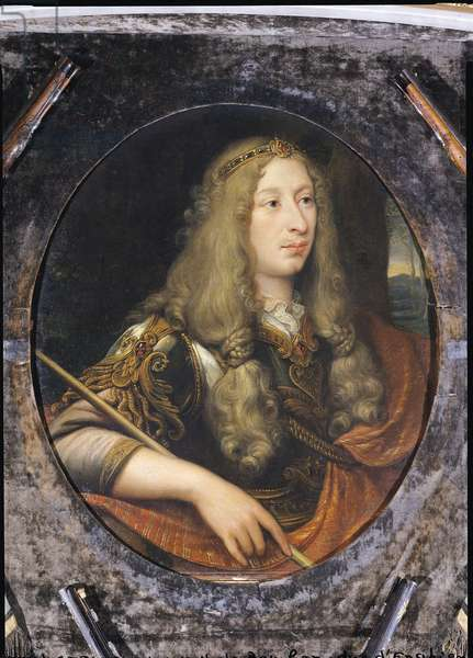 Louis II (1621-86) Prince of Bourbon (oil on canvas)