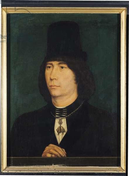 Antoine de Bourgogne (1421-1504) the Great Bastard of Burgundy (oil on panel)