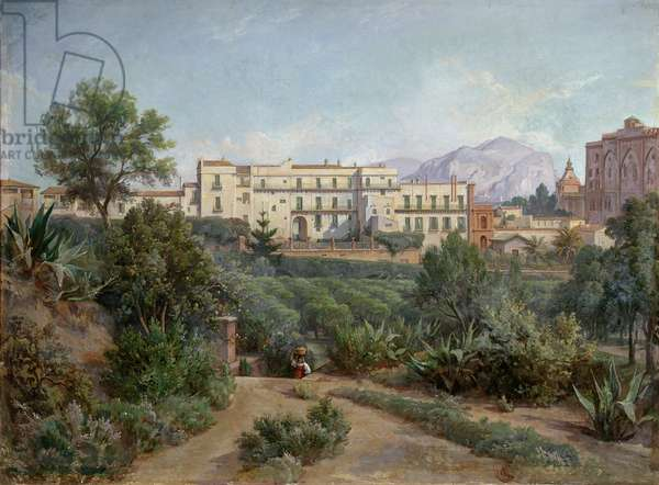 View of Palermo, 1880-82 (oil on canvas)