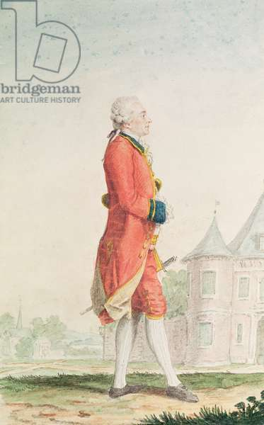 Louis de Noe, Governor of Bordeaux and Chamberlain to the Duke of Orleans, 1769 (pencil, w/c & gouache on paper)