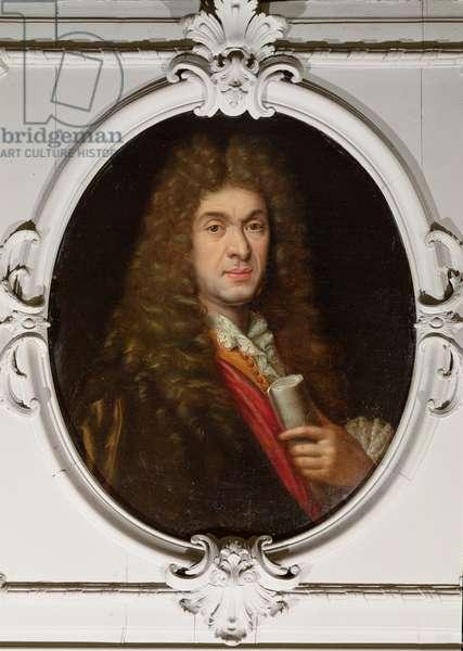 Jean-Baptiste Lully (1632-87) (oil on canvas)