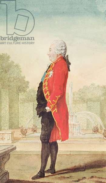 Francois Charles, Comte de Rochechouart, 1768 (pencil, w/c & gouache on paper)