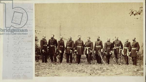 Generals of the Potomac Army, c.1861-62 (b/w photo)