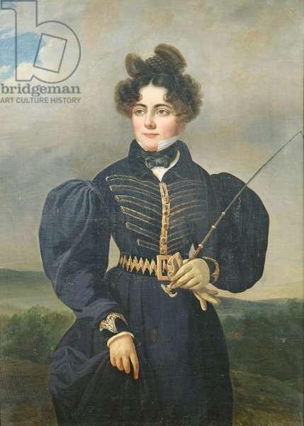 Portrait of Sophie Dawes, Baronne de Feucheres, 1830 (oil on canvas)