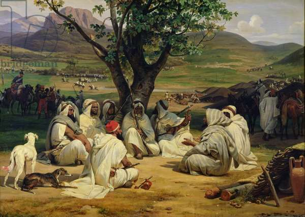 Meeting of Arab Chiefs (oil on canvas)