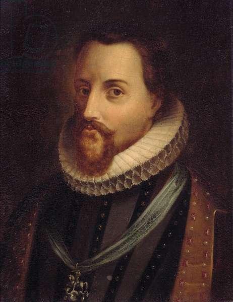 James I (1566-1625) of England and James VI of Scotland (oil on panel)