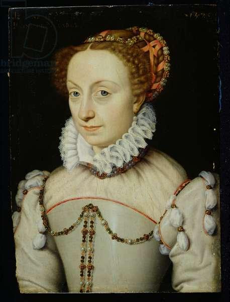 Jeanne III d'Albret (1528-72) Queen of Navarre, 1570 (oil on panel)