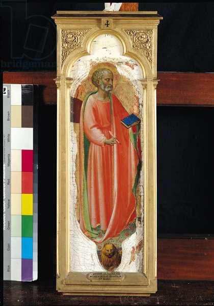 St. Mark, from the San Domenico Altarpiece, c.1418-1435 (tempera on panel)