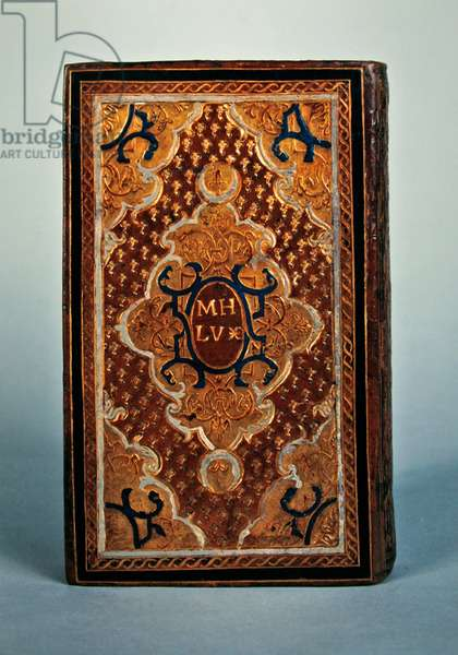 Imp. 935, front cover of Heures de Notre-Dame, a l'usage de Rome, 1564 (gilded Moroccan binding)