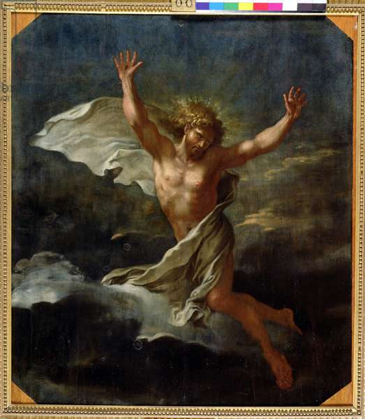 The Risen Christ, after 1662 (oil on panel)