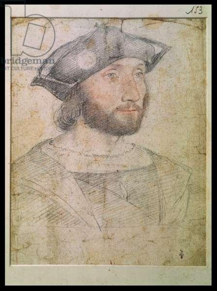 Guillaume Gouffier, Seigneur de Bonnivet (pencil on paper)