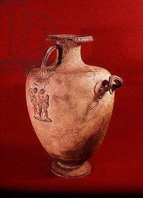 Hydria cinerary urn (bronze)
