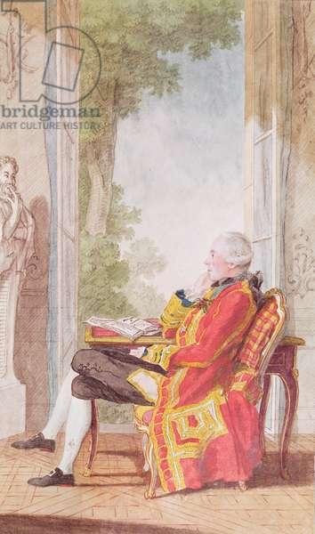 Count Gotlob-Louis de Schomberg, c.1764 (pencil, w/c & gouache on paper)