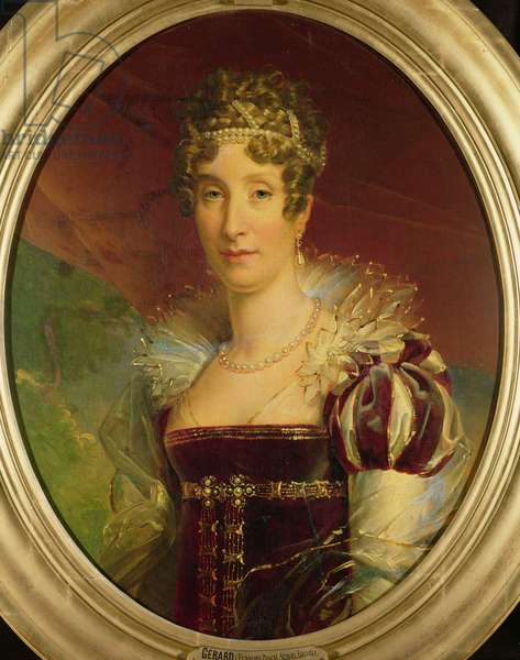 Portrait of Queen Marie Amelie of Bourbon (1782-1866) c.1817 (oil on canvas)