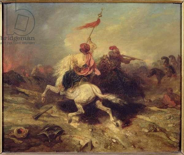 A Turkish Standard Bearer, c.1839 (oil on canvas)