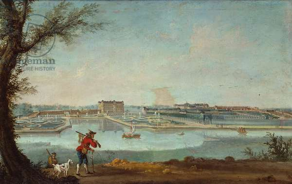 Chantilly in c.1780 (gouache on paper)