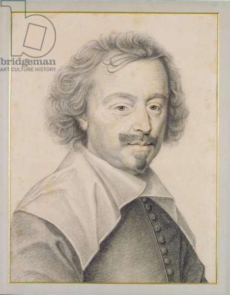 Henri du Bouchet, Parliament councillor (pencil on paper)