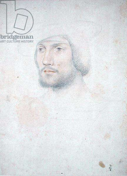Portrait of Anne de Montmorency (1493-1567) Constable and Marshal of France, c.1514 (pencil and sanguine on paper)
