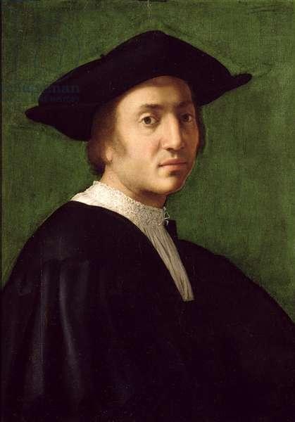 Portrait of a Man, possibly Andrea del Sarto (1486-1530) (oil on canvas)