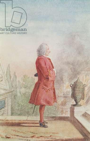 Monsieur de Chateaubrun, 1762 (pencil, w/c & gouache on paper)