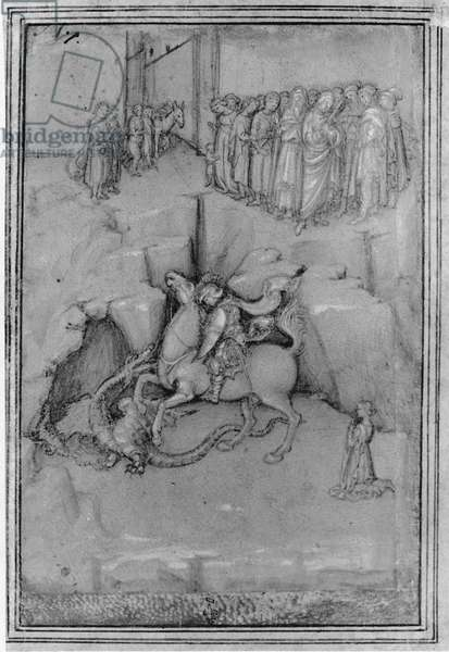 St. George overcoming the dragon
