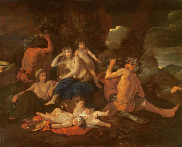 The Childhood of Bacchus, c.1627 (for detail see 72083)