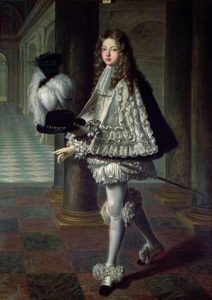 Louis Alexandre de Bourbon (1678-1737) Comte de Toulouse dressed in the Apprentice's Uniform of the Saint-Esprit, 1693 (oil on canvas)