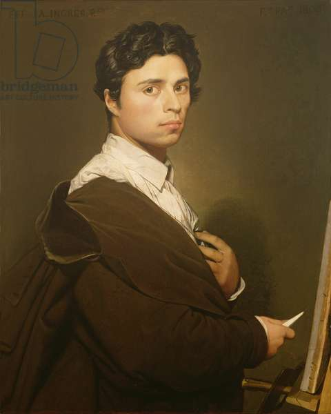 Self Portrait at the Age of Twenty-four, 1804 (oil on canvas)