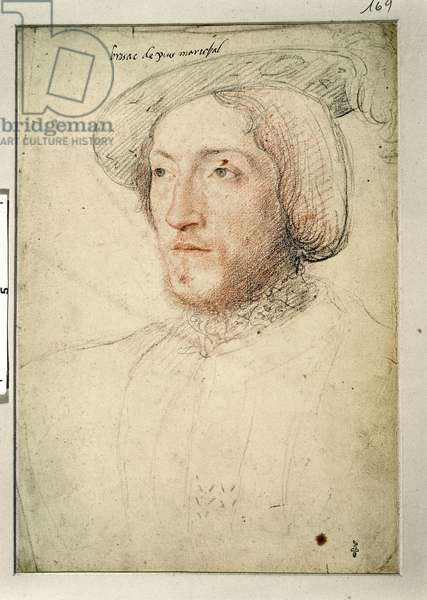 Charles I de Cosse (1505-73) Count of Brissac, c.1540 (pencil on paper)