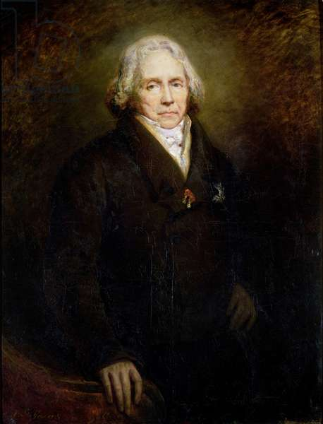 Portrait of Charles Maurice de Talleyrand-Perigord (1754-1838), 1828 (oil on canvas)