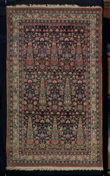 Kirman carpet, from Iran