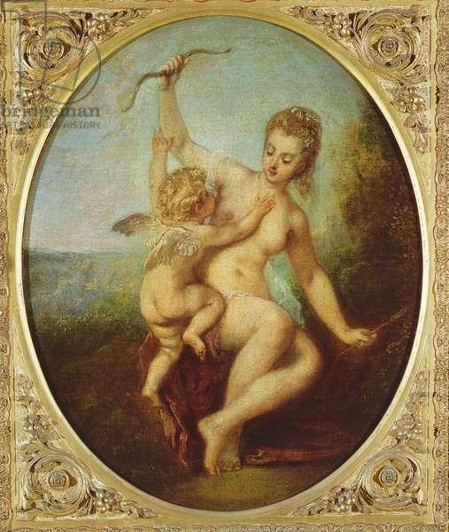 Venus Disarming Cupid, c.1715 (oil on canvas)