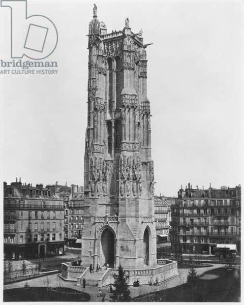 Saint-Jacques Tower, Paris (albumen print)