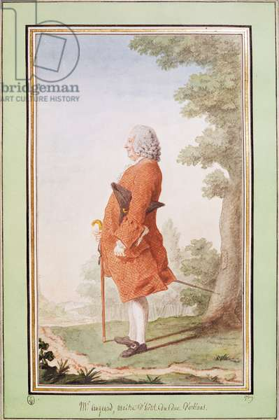 Jacques Augeard, Butler to Duke Louis Philippe of Orleans, 1769 (w/c on paper)