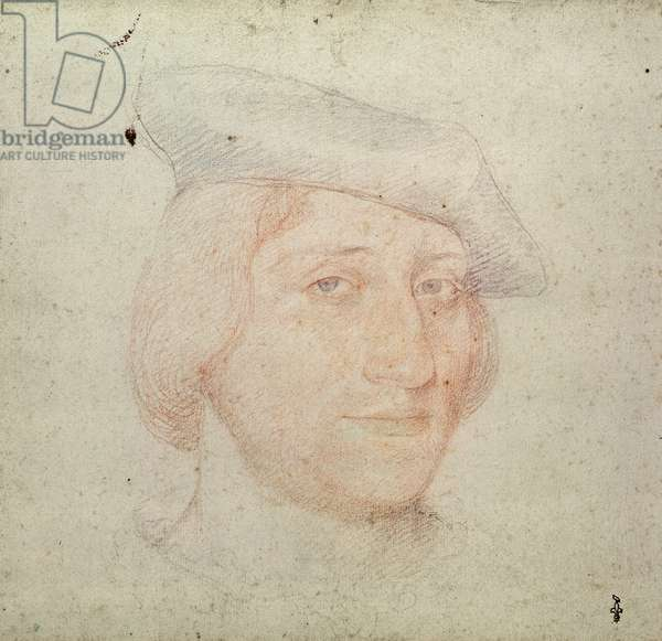 Portrait of a Lord, c.1520-30 (pencil on paper)