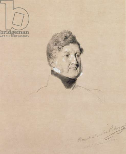 Louis Philippe, 1844 (pencil on paper)