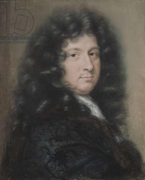 Presumed Self Portrait (pastel on paper)