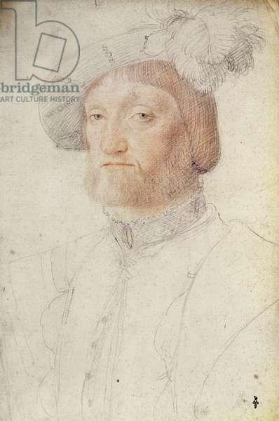 Francois de Voisin, seigneur d'Ambres (1490?-1542), c.1540 (pencil on paper)