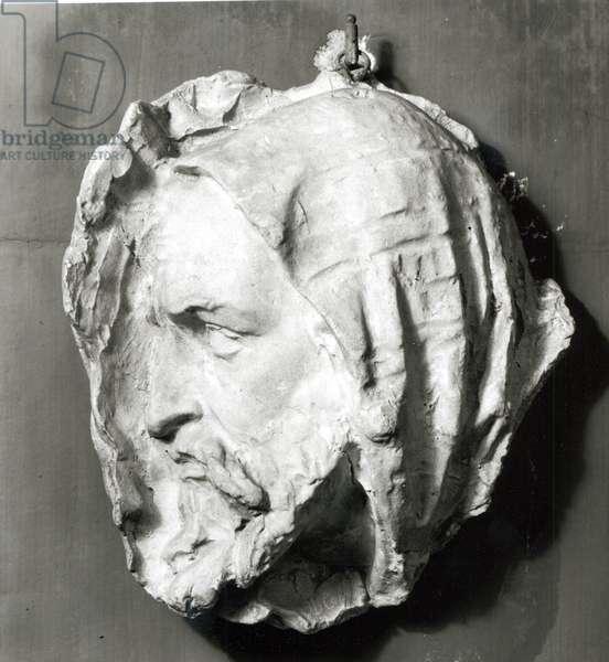 Mask of Abd el-Kader (1808-83) (plaster)