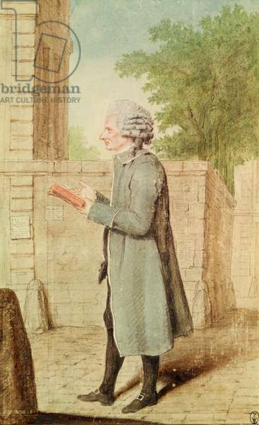 Charpentier, The Queen's Shoemaker, 1770-90 (pencil, w/c & gouache on paper)