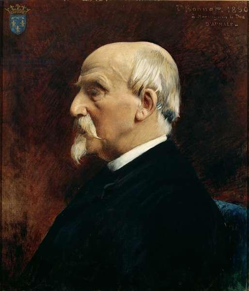 Portrait of Henri d'Orleans (1822-97) Duc d'Aumale, 1890 (oil on canvas)