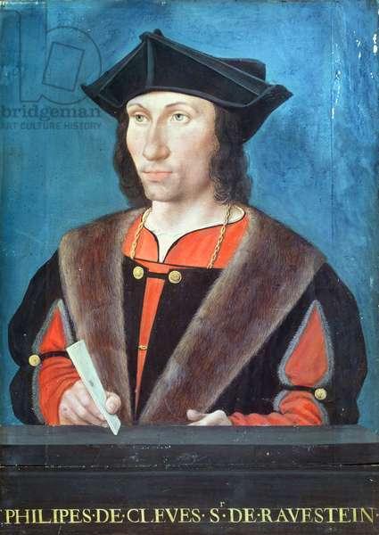 Philippe de Cleves (1459-1527) Seigneur de Ravenstein (oil on panel)