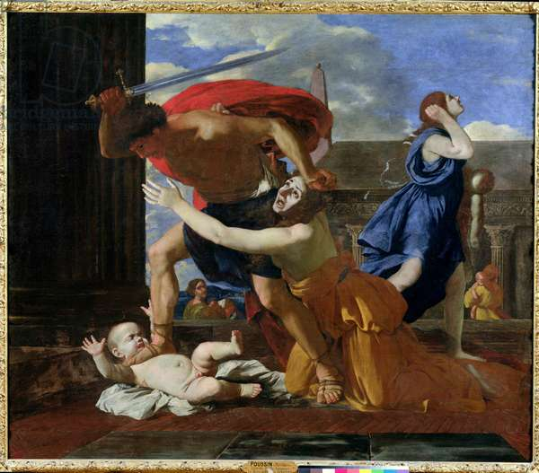The Massacre of the Innocents, c.1628-29 (oil on canvas)