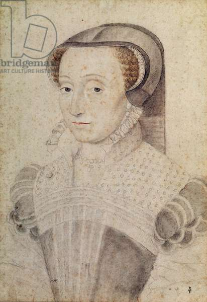 Claude de Beaune (c.1520-68), c.1563 (pencil on paper)
