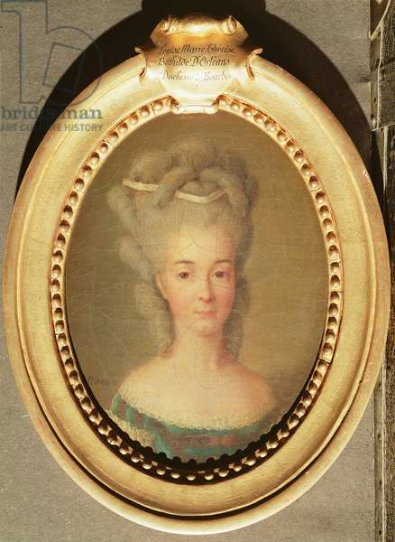 Louise-Marie-Therese-Bathilde of Orleans (1750-1822) (oil on canvas)